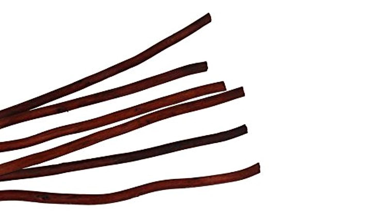 メルボルン有効複雑でないmercyu(メルシーユー) 交換用 リード 柳 40cm 8本入MRUS-RWOW (BR(ブラウン))