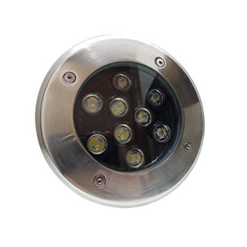 Spot LED Encastrable Extérieur IP65 220V Sol 9W 60° - Blanc Froid 6000K - 8000K