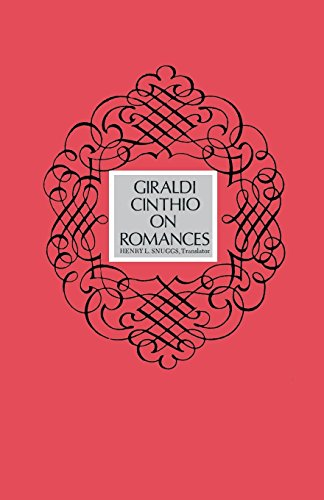 Giraldi Cinthio on Romances (English Edition)