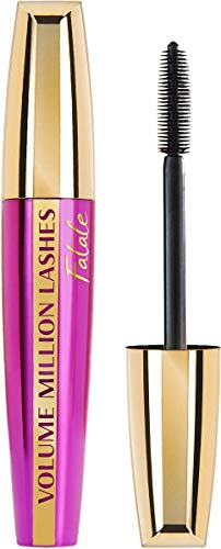 L'Oréal Paris Volume Million Lashes Fatale Mascara Schwarz, Wimperntusche verdichtet die Wimpern für ein...