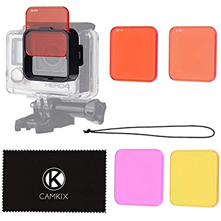 Camkix Objektivfilter Set Kompatibel Mit Gopro Hero 4 Elektronik