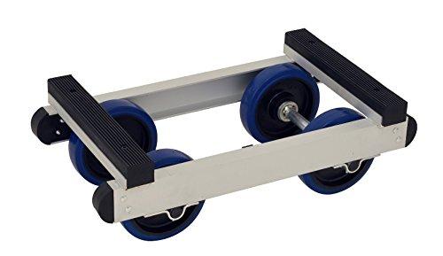 AluTruk PT1 Piano Dolly, 550 kg laadvermogen, 250 mm H × 745 mm L × 420 mm W