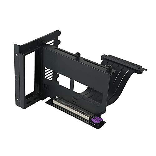 Cooler Master Kit Supporto GPU Verticale Universale V2, per Chassis ATX e Dispositivi PCI-E 3.0, Supporto Scheda Video Modulare, Include Cavo Riser V2, Staffa in Acciaio SGCC Spessa per Robustezza
