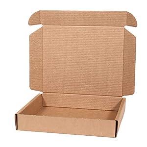 RUSPEPA 43.5 X 28 X 8.9Cm Robe Cartón Caja De Regalo Con Tapas, Cajas De Regalo Para La Ropa Grande, Paquete Completo De 5 (Brown Kraft): Amazon.es: Hogar