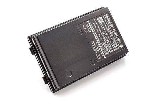 vhbw Li-Ion Akku 2600mAh (7.4V) passend für Funkgerät, Walkie Talkie Vertex/Yaesu FT-60, FT-60R, FT60, FT60R, VX-110, VX-120, VX-146, VX-150, VX-160