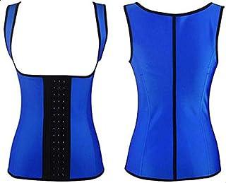 مشد وحمالة صدر للنساء مقاس M-ازرق