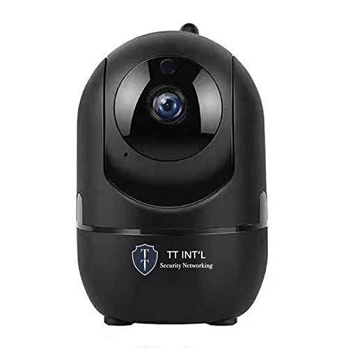 HD-IP-camera Wifi Infrarood Intelligent Pan/Tilt Automatisch volgen 2,0 Megapixel Full HD 1920x1080p - Zwart