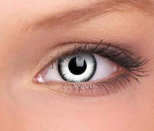 Halloween Kontaktlinse Lustige Linse Lunatic Jährliche Einweg 14 mm stärke 0.00 von ColourVUE