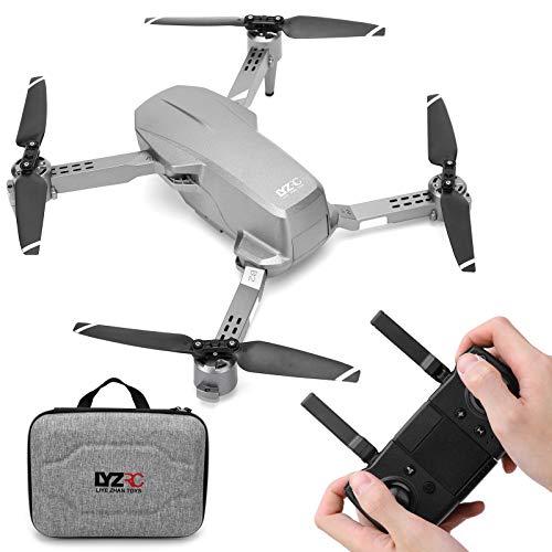 Drohne Mit Kamera, L106 Pro Mini Faltdrohne GPS 2.4G Fernbedienung 4K 2-Achs Stabilizer Quadcopter