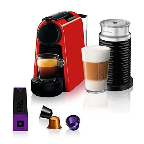 Nespresso Essenza Mini Combo Vermelho Rubi 127 V
