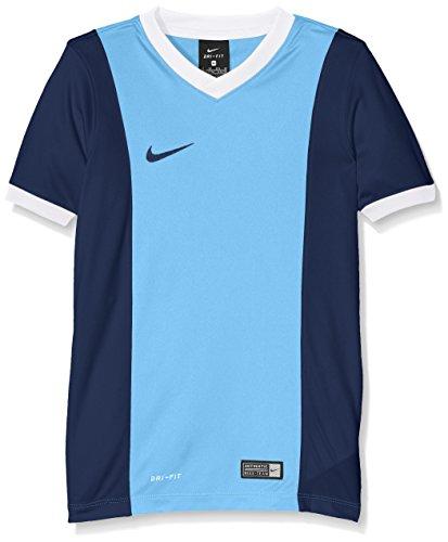 NIKE SS YTH Park Derby Jersey Camiseta, Niños, Azul Marino/Azul (University Blue/Midnight Navy), M