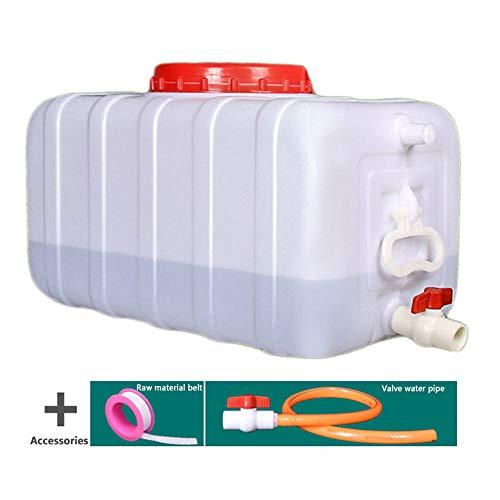 FXH Contenedor De Agua De Plástico De 200 L, Tanque De Agua para El Automóvil, Cubo para Acampar Al Aire Libre con Grifo, Libre De BPA, Antienvejecimiento(Size:150l)