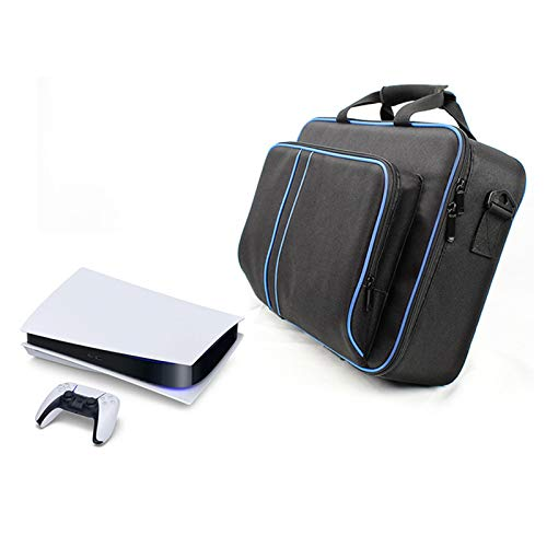 Carrying Case For PS5 Consol Travel Game Console Storage Bag For PS5 Carrying Case Console Storage Bag Game Controller Organizer For PS5 Console Preventing Water Damage Scratches And Collisions