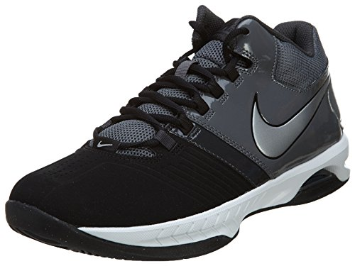 New Nike Men's Air Visi Pro V NBK Basketball Shoes Black/Grey 12