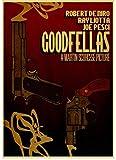 SANLIUJIU Leinwand Poster Filmplakat Good Fellas Retro