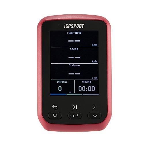 Lixada Ciclocomputer Montare Wireless Ant + BT 4.0 IPX6 Impermeabile Moto GPS Computer Contachilometri con Schermo LCD