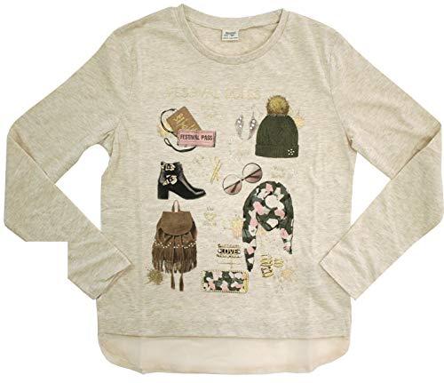 Mayoral - Camiseta infantil para niña, color beige claro beige claro 12 años
