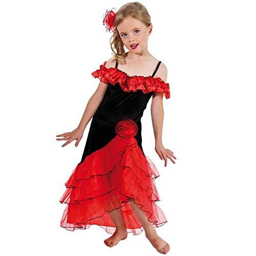 Déguisement robe espagnole enfant--12 à 14 ans