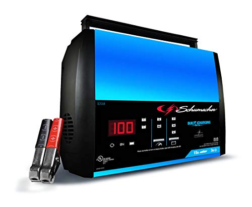 Schumacher SC1359 6/12V Fully Automatic Battery Charger and 15A Maintainer