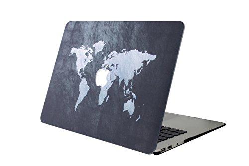 Custodia MacBook Pro 13 Case,L2W MacBook Pro 13.3 [X Serie] Plastica Cover Rigida Duro Caso Copertina Cover Case per Apple MacBook 13.3 pollici Modello: A1278 - Mappa 38