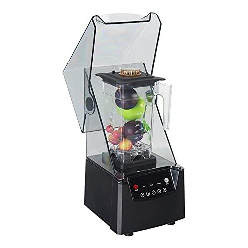JIEYUEBAI Máquina de batido de licuadora Comercial Máquina de batido con Tapa Máquina de Leche de Soja con Tapa Máquina de Leche de Soja Granos Electric Blender Juicer