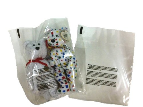 400 Piece Combo Pack Suffocation Warning 2 mil Flat Poly Bags: 4 Sizes. 100 Each: 6x9, 8x10, 9x12, 11x14