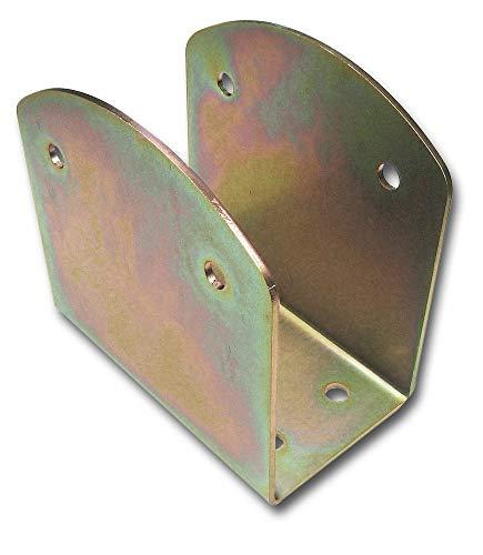 2X Pfostenträger CE Brettschichtholz 120x190x180 mm Stahl verzinkt+ hohe Korrosionsbeständigkeit