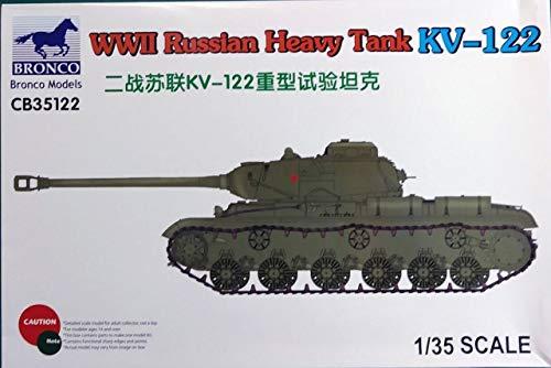 Unbekannt Bronco Models cb35122–Maqueta de WWII Russian Heavy Tank KV de 122