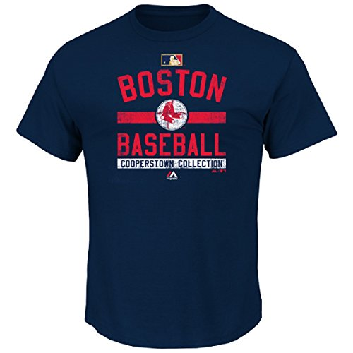 """Boston Red Sox Majestic MLB """"Team Property"""" Cooperstown Short Sleeve T-shirt"""