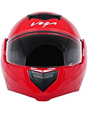 Vega Crux DX Flip-Up Helmet (Red, L)