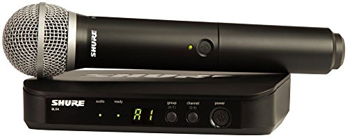 Shure BLX24/PG58 Handheld Wireless System with PG58 Vocal Microphone, H9