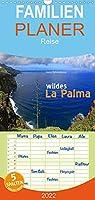 wildes La Palma - Familienplaner hoch (Wandkalender 2022 , 21 cm x 45 cm, hoch): Wilde Naturlandschaften der Kanareninsel La Palma (Monatskalender, 14 Seiten )