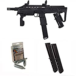Tippmann TCR Magfed Tactical Compact Rifle Paintball Gun 3Skull 12rd Mag Set