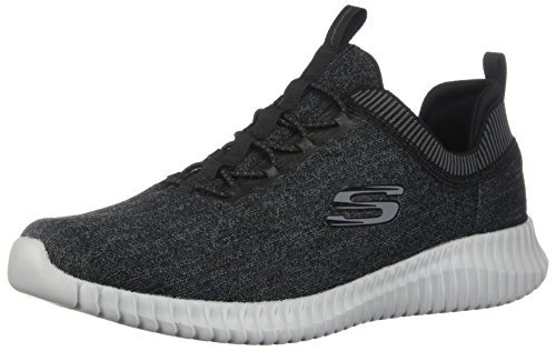 Skechers Sport Men's Elite Flex-Hartnell Fashion Sneaker,Black/Gray,10.5 M US
