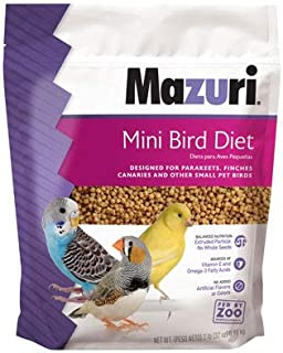 Mazuri Mini Bird Diet