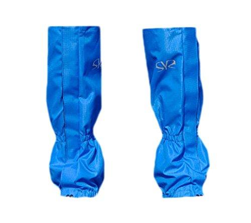 Guêtres Chaussures 400D désert Bottes Guêtres 48 cm long bleu royal