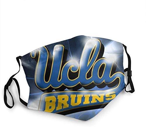 Keyboard cover UCLA Bruins Fans Mundschutz Atmungsaktiver Outdoor Face Shield Gesichtsschal zum Radfahren Camping Travel Waschbarer Mundschutz FSD-1403