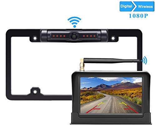 LeeKooLuu HD Wireless Backup Camera
