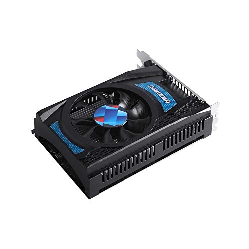 APROTII Scheda Video Radeon RX550 GPU 4GB GDDR5 128bit Gaming Desktop PC Video Schede Grafiche supporto DVI-D/HDMI-compatibile/DP