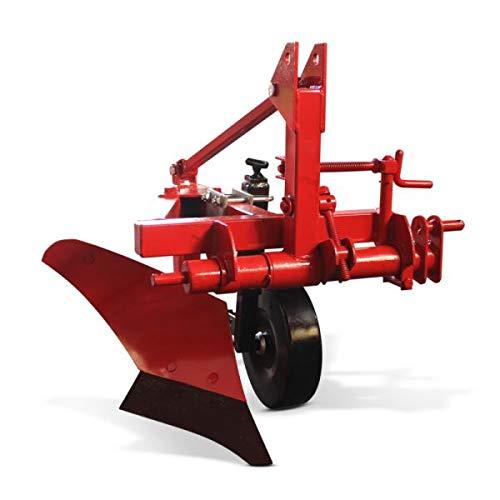 Wallentin & Partner | Einscharpflug verstellbar | 1 Schar Pflug 20 cm | Pflug Kleintraktor ab 15 PS verstellbar | Einschariger Pflug 50 kg | Einschariger Pflug Traktor Dreipunktanbau Kat. 1