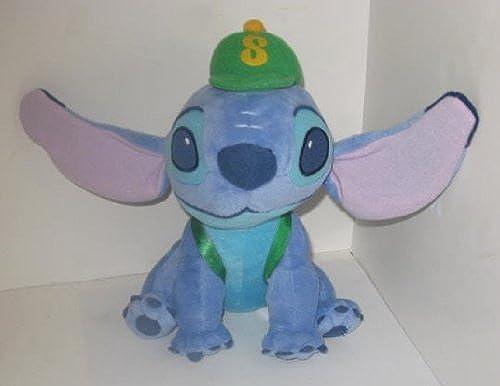 Disney Lilo & Stitch Plüsch Stitch mit Baseball, & passenden Rucksack