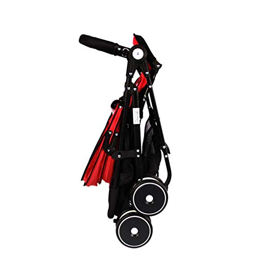 Lowest Price! DZFZ Baby Stroller Can Sit Reclining Folding Compact Shock Absorber Light Four Seasons...