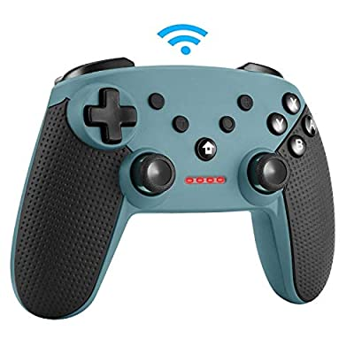 Etpark Wireless Controller for Nintendo Switch, Bluetooth Wireless Gamepad Joystick for Nintendo Switch, Remote Controller with Double Motors and Vibration Feedback