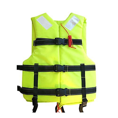 Giubbotto salvagente Regolabile per Adulti mutifunzionale Nuoto Sicurezza Large Buoyancy,Canottaggio Vela Pesca Kayak di Salvataggio Bears a Weight of 100kg Adatto per Pesca Allaperto, Nuoto, Surf