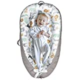 Yoocaa Baby Lounger, Baby Nest for Cosleeping - Portable Breathable Cotton Newborn Lounger Nest for Napping and Traveling (0-12 Months)