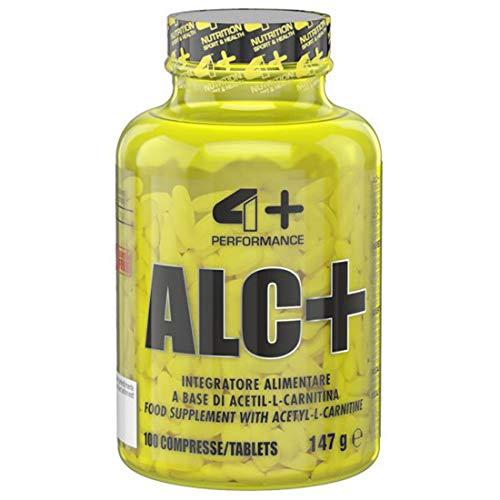 4 nutrition ALC, - 1 g Acetil-L-carnitina - 100 Compresse, 147 g