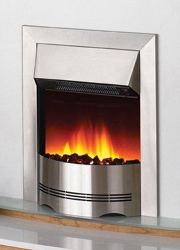 Dimplex DX3020 Optiflame Electric Fire with Real Coal, Silver
