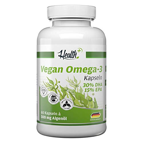 Zec+ Nutrition Health+ Algen-Öl Kapseln...