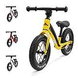 Hornit Airo Super Lightweight Magnesium Alloy Balance Bike, Hammer Yellow