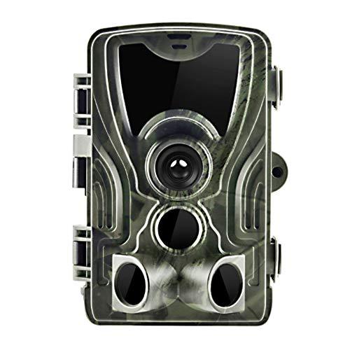 Fotocamera da 16 MP HD 1080P per fauna selvatica, videocamera a infrarossi per visione notturna senza bagliore, design impermeabile per esterni, caccia, time-lapse